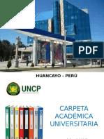 Carpeta Academica Ing Civil