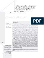 Efecto De Las Calizas Agregadas A Las Pastas Empleadas En La fabricación de productos cerámicos de construcción del área metropolitana de Cúcuta