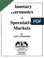 Pesavento Planetary Harmonics of Speculative Markets (1996)