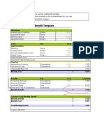 943384 Cost Benefit Template