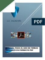 Manual de Firmas en PDF