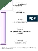 Calculo Integral - Tarea