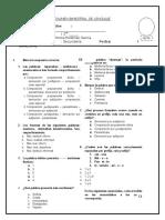 Examen Bimestral Segundo