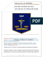 La Historia Del Nombre de DAN - El Padre de Uno de Los 12 Tribuas de Israel
