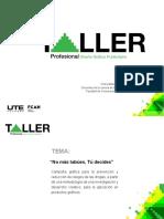 Taller Profesional JUNIO 2016