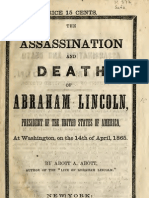 (1865) The Assassination and Death of Abraham Lincoln