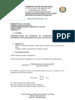 Práctica 1. Guia Practica Humedad y Solidos Totales
