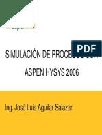 Aspentench Simulacion de Procesos Con Aspen Hysys 2006