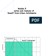 Urban Runoff Estimation