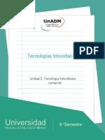 Unidad2.Tecnologiafotovoltaicacomercial