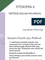 Kuliah 2 Isolasi Polifenol