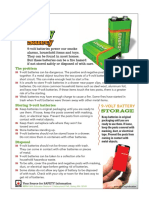NFPA 9 Volt Battery Safety