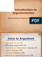 Intro to Argument.ppt