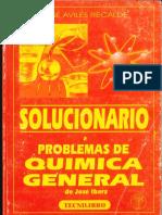 Solucionario a Problemas de Quimica General Jose Ibarz (1)