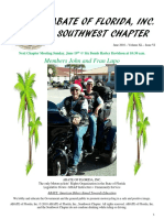 Southwest Chapter of ABATE of Florida June 2016