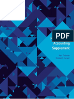Management Accounting Supplement, 6th Edition
