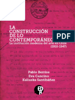 La Construccion de Lo Contemporaneo