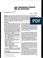 SPE 13239 1984 NatL Petroleum Council Study on EOR an Overview