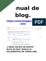 Manual Blog Google