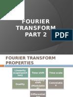 Chapter 3 Part 2 Fourier Transform Properties