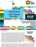 Orientaciones Pedagogicas Año Escolar 2015-2016 MODIFICADAS