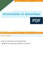 Structuration Et Sémantique