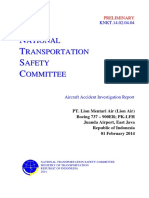 Preliminary Report PK-LFH