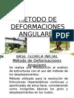 6. Metodo de Deformaciones Angulares