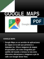 Presentacion Google Maps