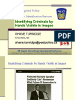Identifying Criminals by Hands Visible in Images