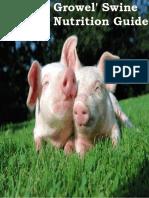 Growel' Swine Nutrition Guide