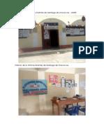 Fachada de La Oficina Distrital de Santiago de Chocorvos Vi