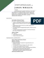 jason resume  may 2016