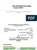 Equity and Entrepreneurship Fund (EEF)