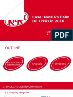 Kitkat Nestle Palm Oil Crisis Management
