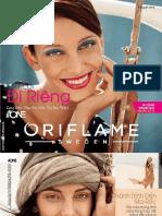 Catalogue My Pham Oriflame 6-2016