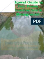 Growel Guide to Fish Ponds Construction & Management