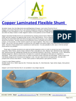 Copper Laminated Flexible Shunt Manufacturer