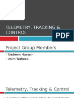 Telemetry, Tracking and Control