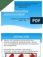 Anemia Hemolítica Autoinmunitaria.plus