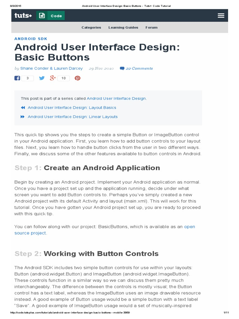 Android User Interface Design_ Basic Buttons - Tuts- Code