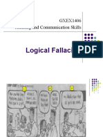 Week Logical Fallacies