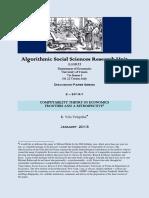Computability Theory in Economics