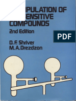 Shriver, The Manipulation of Air-Sensitive Compounds BOOK