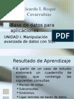 Bases de Datos Para Aplicaciones