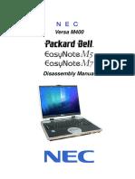 Easynote m5 m7 Versa m400