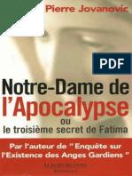 Notre-Dame de l'Apocalypse - Pierre Jovanovic