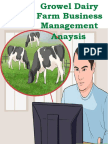Growel Guide to  Dairy Farm Business Management Analysis