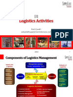 Logistics Activities (supply chain)