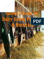 Growel Guide to Dairy Cattle Feeding & Nutrition